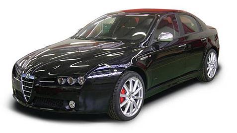 Alfa Romeo 159 test drive alfa romeo 159