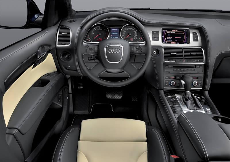 Audi q7 фото салона